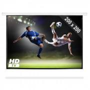 "FrontStage Pantalla motorizada para proyector HDTV 200x200cm 1:1 (PS-PSAB-112"")"