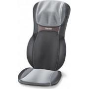 Husa de scaun pentru masaj Beurer Shiatsu MG295 60 W 2 trepte de viteza 3 regiuni de masaj Negru