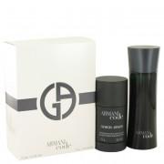 Giorgio Armani Code Eau De Toilette Spray 2.5 oz / 74 mL + Alcohol Free Deodorant Stick 2.6 oz / 77 mL 447255