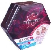 Cartoon Network Bakugan Battle Brawlers Bakubronze Series Black Bakutin Set With 2 Collector Bakugan (Bakugan May Vary), 5 Ability Cards, 5 Metal Gate Cards, 2 Removable Trays And Bakugan Storage Tin