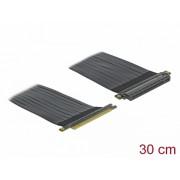 Riser Card PCI Express x16 la x16 + cablu flexibil 30cm, Delock 85764