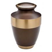 Grote Messing Urn Goudbruin - Sierrand (3.7 liter)