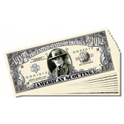 American Scouting (Girl Scouts) Million Dollar Bill 10 Count With Bonus Clear Protector & Christopher Columbus Bill