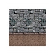 Vegaoo.se Borgsvägg - Enorm väggdekoration 1,2 x 9,1 m