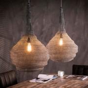 LUMZ Metalen hanglamp met gaas