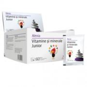Vitamine si Minerale Junior pliculete Alevia