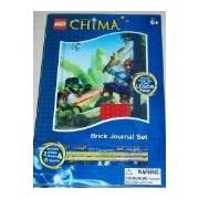 LEGO Legends of Chima Brick Journal Stationary Set