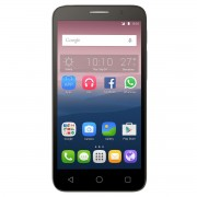 "Telefon mobil Alcatel 5065D Pop 3, Dual Sim, 4G, 5"", Quad-core, RAM 1GB, Stocare 8GB, Camera 5MP/2MP, Baterie 2000mAh, Silver"