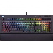 Tastatura Gaming Tt eSPORTS by Thermaltake Premium X1 RGB Cherry MX Blue Mecanica