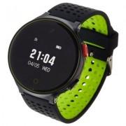 GARETT Smartwatch Sport 21 Czarno-zielony