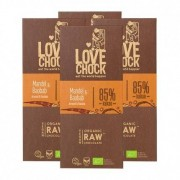 Lovechock, Tablettes de chocolat bio amandes & baobab