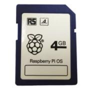 Raspberry Pi OS - SD Karte 4GB Raspberry Pi OS installiert - Aktionspreis - 10 Stück verfügbar