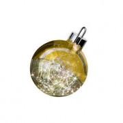 Sompex LED Dekoleuchte Kugelleuchte Ornament, Ø 20 cm, gold, batteriebetrieben, Glas