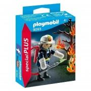 Playmobil Special Plus - Bombero Con Arbol En Llamas - 9093