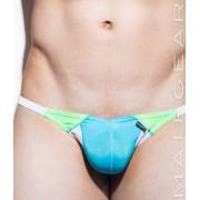 Mategear Kan Kwan III Maximizer Ultra Kini Bikini Swimwear Deep Sky Blue 1481003