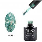 Elite99 Diamante Brillo Caramelo Esmalte De Uñas Nail Gel-GC108