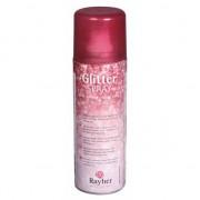 Rayher hobby materialen Glitter spray met rode fijne glitters