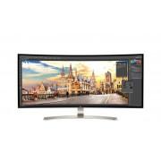 """Monitor LG LED 38"""" Ultra Wide 2xHDMI/DisplayPort/USBTypeC - 38UC99-W"""""""""""