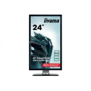 Iiyama G-MASTER Red Eagle GB2488HSU-B3 - Écran LED - 24 (24 visualisable) - 1920 x 1080 Full HD (1080p) - TN - 350 cd/m² - 1000:1 - 1 ms - 2xHDMI, DVI-D, DisplayPort - haut-parleurs - noir