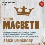 Erich Leinsdorf - Macbeth - Sony Opera House (0886978557629) (2 CD)