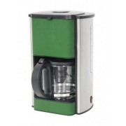 Cafetiera Heinner Silicon HCMSIL1080, 1080W, Verde, 1.5L, Silicon