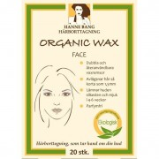 Hanne Bang Organic Wax Face 20 st