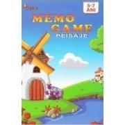 Memo Game - Peisaje 5-7 ani