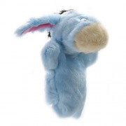 Chinatera Weight Easily Animate Adorable Donkey Hand Puppet Soft Fur Doll Plush Toy Farm Animal Story Telling Prop Play Glove Free Size Blue