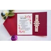 Invitatie nunta cu sigiliu OPIS064