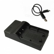 BX1 cargador de bateria de la camara movil micro USB para Sony - negro