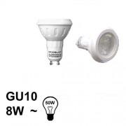 Verlichting GU10 LED Spot 8W Koud