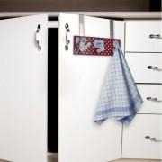 Suport prosoape bucatarie pt usa dulapului