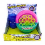 Kids Playtime Toddler Fun Bubble Machine Toy Blower Summer Spring Play Bubbles Maker