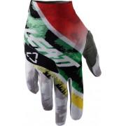 Leatt GPX 1.5 GripR Leopard Handskar L Vit Grön