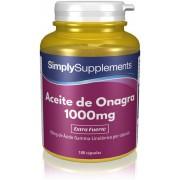 Simply Supplements Aceite de Onagra 1000 mg - 120 Cápsulas