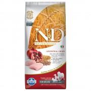 12kg N&D Low Grain Adult Medium Farmina Hrană uscată câini - Pui și Rodie