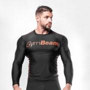 GymBeam Kompresijska majica Black/Red S