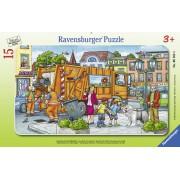 PUZZLE TIP RAMA ORAS, 15 PIESE - RAVENSBURGER (RVSPC06162)