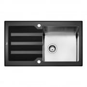 Мивка за вграждане Teka Lux 86 1C 1E Черна , 12129008