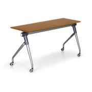 B2B Partner Konferenztisch klappbar, klapptisch mit rollen training plus, 1450x450