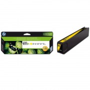HP 971XL High Yield Yellow Original Ink Cartridge (CN628AE)