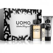 Salvatore Ferragamo Uomo coffret II. Eau de Toilette 100 ml + Eau de Toilette 10 ml + champô e gel de banho 100 ml
