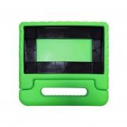 "EVA Tablet Funda Protectora Desk Stand Case Con Asa Para 2016/2017 Verde Tableta 8"""