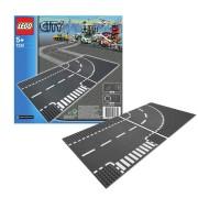 Lego City – Cruce en T y curva 7281