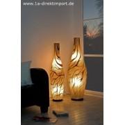 1a Direktimport Exklusive große Fiberglas Stehlampe, Leuchten