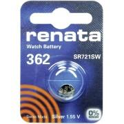 Baterie buton oxid de argint 362, 1,55 V, 24 mAh, Renata