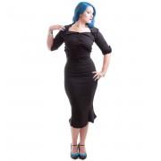 košile dámská NECESSARY EVIL - Belisama Poplin - Black - N1109