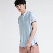 【SALE 50%OFF】ティーケー タケオ キクチ tk.TAKEO KIKUCHI シルケットポンチシャツ (ライトブルー)