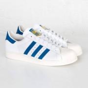Adidas Superstar 80s White/Dark Royal/Chalk White