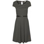 Vero Moda Rochie pentru femei VMVIGGA FLAIR CAPSLEEVE DRESS Black Snow White XS
